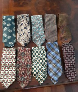 Neckties for men's 100% silk . Christian Dior Cravat , JACQUES ESTIER, RUBINACCI, BURBERRY LONDON, GIAN FRASCO FERRETTI, for Sale in Miami, FL