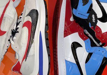 Jordan 1 Fearless, Nike Sacai Royal Fuchsia for Sale in Powder Springs,  GA