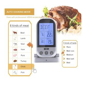 Wireless Meat Thermometer With Dual Probes for Sale in South Gate, CA
