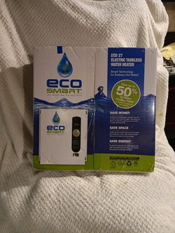 Eco Smart Electric Thankless Water Heater for Sale in Amherst,  OH