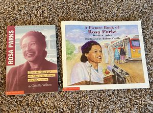 Rosa Parks childrens book lot for Sale in Tacoma, WA