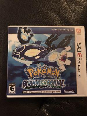 Pokémon Alpha Sapphire for Sale in Sultan, WA