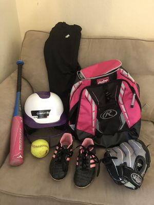 Kids softball for Sale in Rocklin, CA