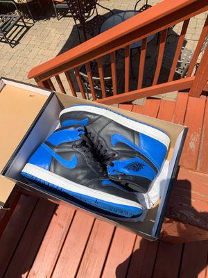 Jordan 1 royal size 10.5 for Sale in Oak Park, IL