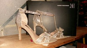 I.N.C women's bow rhinestone evening sandals for Sale in Silver Spring, MD