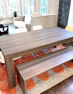 Dining Table With Bench And Chairs!! for Sale in Newton,  MA