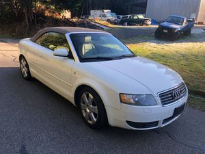 2006 AUDI A4 1.8 Turbo Cabriolet for Sale in Snohomish, WA