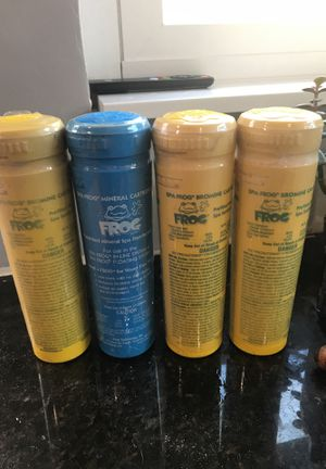 Spa Frog Mineral Bromine Cartridges Pool Hot Tub Chemicals for Sale in San Diego, CA