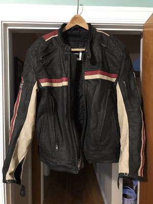 Triumph leather motorcycle jacket for Sale in Chicago, IL