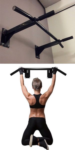 New in box 38 x 20 inch depth heavy duty wall mount pull up bar exercise chin up bar 440 lbs capacity for Sale in San Dimas, CA