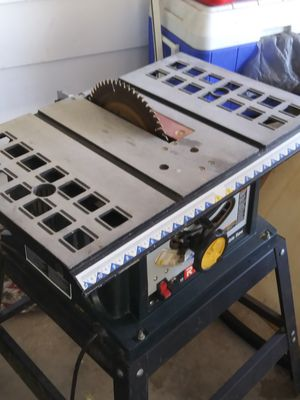 """Ryobi 10"""" table saw 13amp for Sale in Casselberry, FL"""