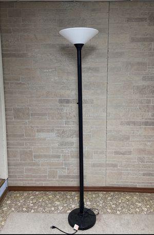 Black Metal Floor Lamp + Bulb for Sale in Fairfax, VA
