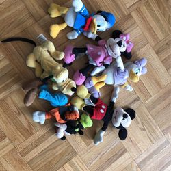 Disney Collection Of Stuffed Animals for Sale in Woodridge, IL