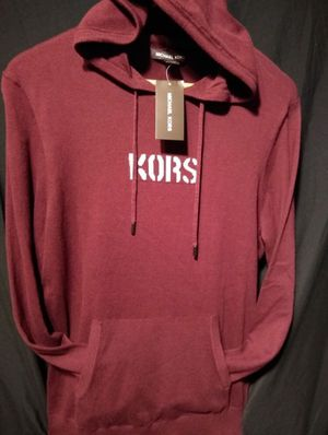 "MK ""KORS"" hoodie size medium men's retail 125.00 for Sale in Austin, TX"