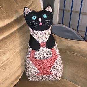 Patchwork cat doll for Sale in Tacoma, WA