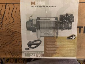 Brand new M 12000 Winch for Sale in Los Angeles, CA