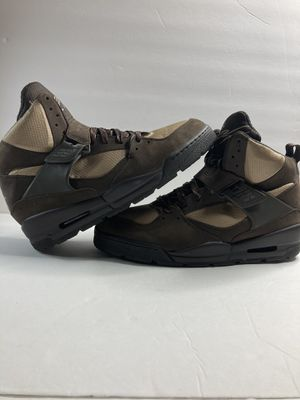MEN'S NIKE JORDAN FLIGHT 45 TRK BOOT 467927-204 BROWN Size 13 for Sale in Rosemead, CA