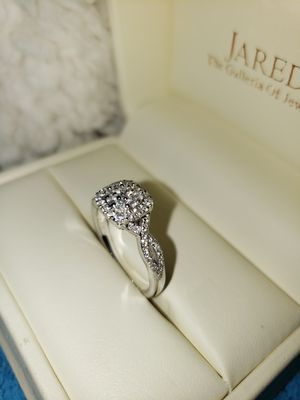 Jared, Nail Lane halo white gold engagement ring for Sale in Leesburg, VA
