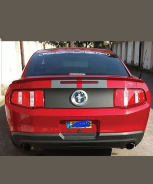 Ford mustang blackout decal 2010-2012 for Sale in Fort Washington, MD
