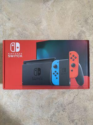 Nintendo Switch - 32GB - Neon Red/Neon Blue Joy-Con V2 for Sale in Chula Vista, CA