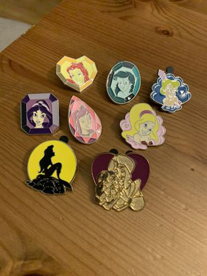 Disney trading Pins - Princess set for Sale in Brea, CA