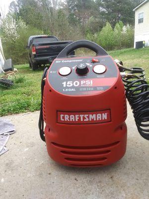Craftsman air compressorlll for Sale in Stockbridge, GA