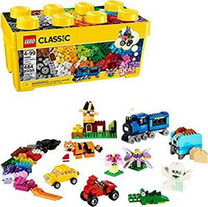 LEGO Classic Medium Creative Brick Box 10696 Building Toys for Creative Play; Kids Creative Kit (484 Pieces) for Sale in Arlington, WA