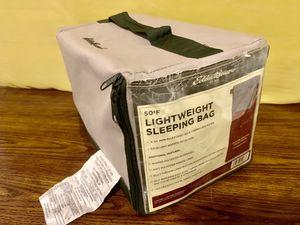 Eddie Bauer Lightweight Sleeping Bag (used) for Sale in Los Angeles, CA