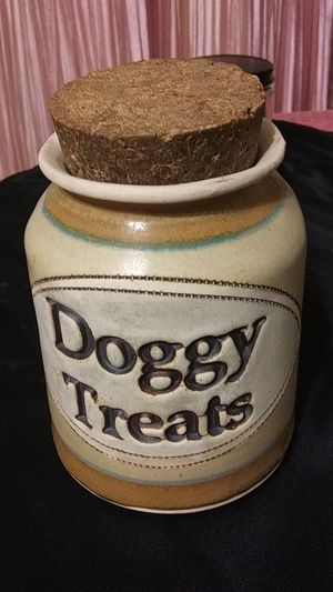 Doggie treats jar for Sale in Niles, OH