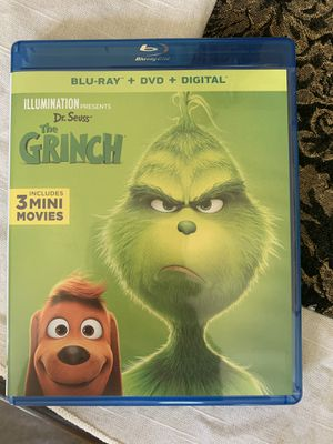 The grinch Blu-ray for Sale in Anaheim, CA