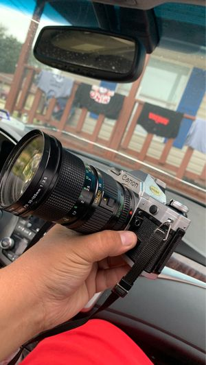 Canon Ae1 with FD 35-105mm 1:3.5 zoom lense for Sale in Houston, TX