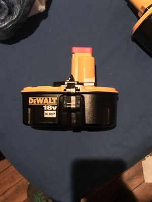 DEWALT 18 VOLT XRP BATTERY BRAND NEW for Sale in St. Louis, MO