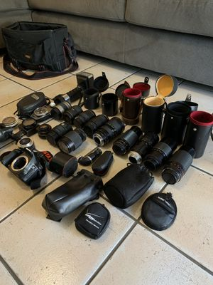Camera + Lens lot!! Deal! for Sale in Chandler, AZ