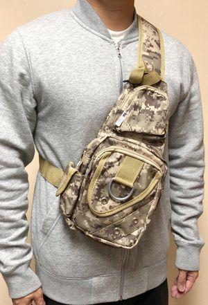 NEW! Camouflage Shoulder bag, cross body bag pouch travel bag not supreme satchel gym bag Shoulder pack side bag backpack back sling bag for Sale in Carson, CA
