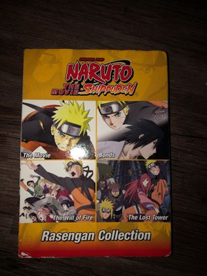 Naruto Shippuden 4 Movie Collection for Sale in West Sacramento, CA