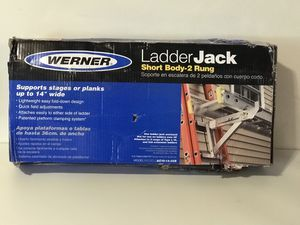 WERNER LADDER JACK SHORT BODY-2 RUNG for Sale in San Bernardino, CA