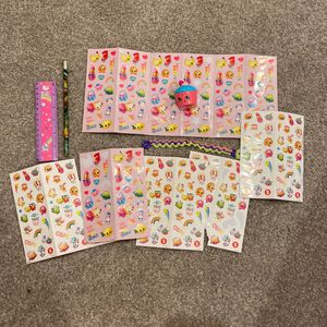Shopkins Brand Stickers And Shopkins Cupcake for Sale in Corona, CA