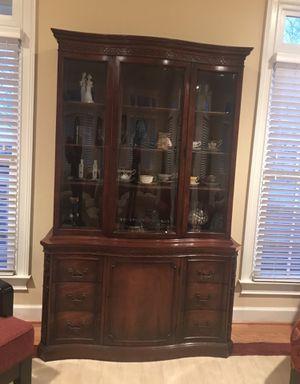 Antique/Vintage (70+ yrs) John Stuart China Cabinet MAKE BEST OFFER for Sale in Rockville, MD