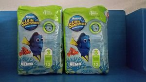 2 X Huggies Little Swimmers ( Small, 16 -26 LBS) for Sale in Round Rock, TX