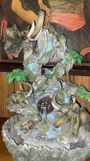 elephant fountain for Sale in Anaheim, CA