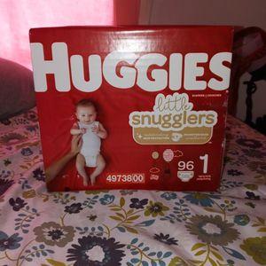 Huggies Little Snugglers Size 1 96 Count for Sale in Wilmington, DE