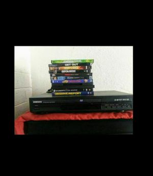 Samsung DVD Player & 11 DVDs for Sale in Phoenix, AZ
