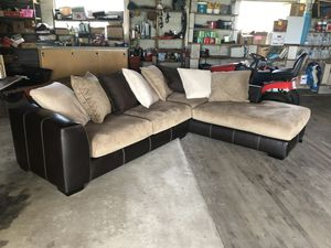 Corduroy Sectional Couch for Sale in RUSCMBMNR Township, PA