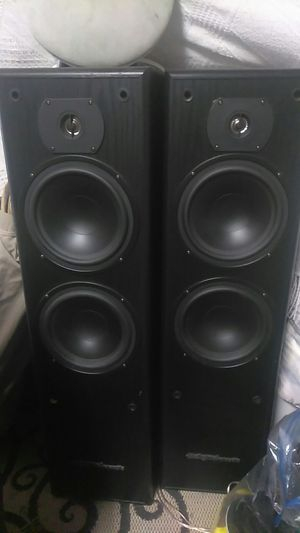 Audio acoustics home stereo speakers very clean and crisp sound for Sale in San Jose, CA