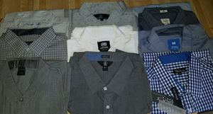 Men's button shirts 6 for $30 for Sale in Fountain Valley, CA