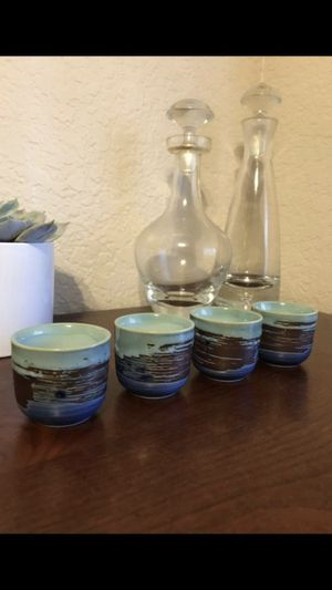 4 sake glasses + FREE GIFTS for Sale in Victorville, CA
