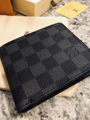 Brand New LV - Damier Graphite Monogram Louis Vuitton Wallet for Sale in Chicago, IL