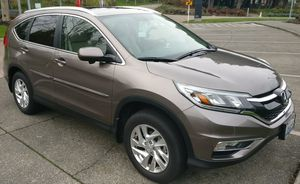 Honda CRV EX L 2015 Low miles for Sale in Bellevue, WA