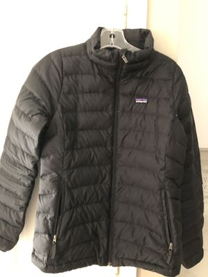 Patagonia Jacket girl's XL(14), black for Sale in St. Louis, MO