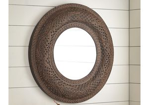 NEW IN THE BOX. ELIKAPEKA ANTIQUE BROWN ACCENT MIRROR, SKU# A8010158AM for Sale in Santa Ana, CA
